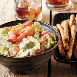 Warm Artichoke-Shrimp Dip recipe