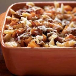 Roasted Butternut Squash and Bacon Pasta recipe