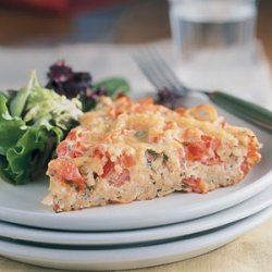 Frittata with Spaghetti and Tomatoes recipe