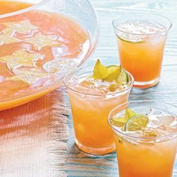 Tropical Champagne Punch recipe