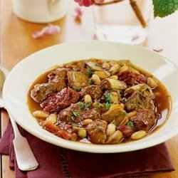 Lamb Stew with White Beans and Artichokes recipe