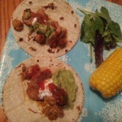 Allie's Spicy Chicken Tacos recipe