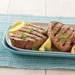 Tuna Steaks with Lemon Vinaigrette recipe
