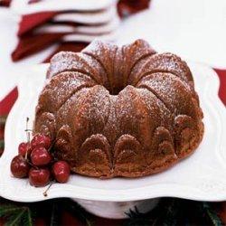 Chocolate-Earl Grey Pound Cake recipe