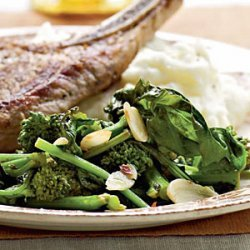 Spicy Garlic Broccoli Rabe recipe