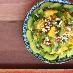 Fruit With Orange-Ginger Dressing recipe