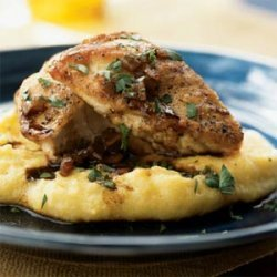 Sauteed Chicken Breasts with Balsamic Vinegar Pan Sauce recipe
