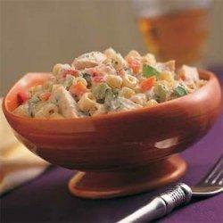 Confetti Pasta Salad with Chicken recipe