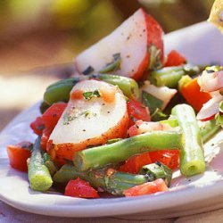 Herbed Potato Salad with Green Beans and Tomatoes recipe