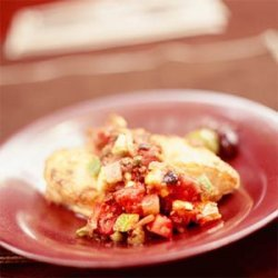Mediterranean Chicken With Salsa recipe
