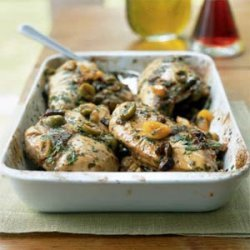 Chicken with Fruit and Olives recipe