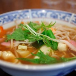Tokyo-style Ramen Noodles recipe