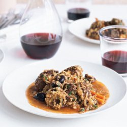 Lamb Tagine with Couscous recipe