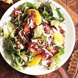 Winter Citrus, Escarole, and Endive Salad recipe