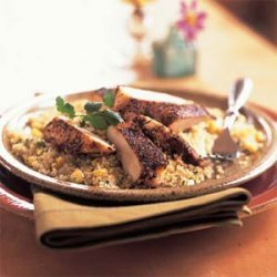 Spiced Chicken with Couscous Pilaf recipe