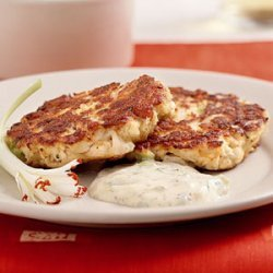 Creole Cakes with Sweet and Spicy Remoulade Sauce recipe