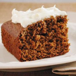 Molasses Cake with Lemon Cream Cheese Frosting recipe