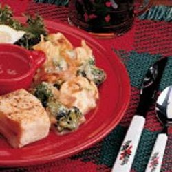 Broccoli Cauliflower Casserole (french-fried onions) recipe