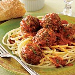 Spaghetti and Easy Meatballs recipe