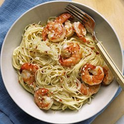 Angel Hair with Spicy Shrimp recipe