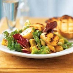 Caribbean Grilled Scallop Salad recipe