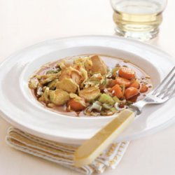 Asian Chicken with Brussels Sprouts recipe