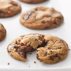 Chocolate Chunk and Almond Cookies recipe