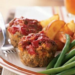 Diner Meat Loaf 'Muffins' recipe