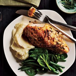 Italian-Seasoned Roast Chicken Breasts recipe