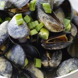 MUSSEL GINGER SOUP recipe