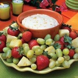 Brown Sugar Fruit Dip recipe