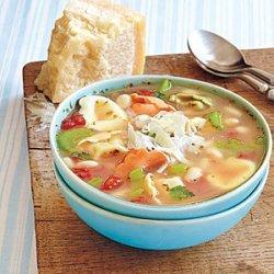Tortellini and White Bean Soup recipe