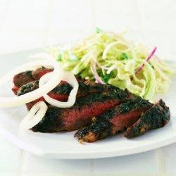 Steak with Fresh Herbs recipe