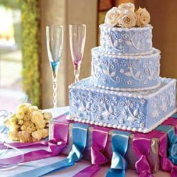 Amaretto Cream Wedding Cake recipe