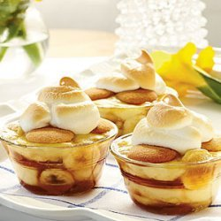 Caramelized Banana Pudding recipe