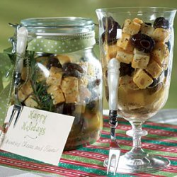 Marinated Cheese and Olives recipe