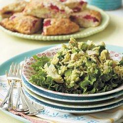 Chicken, Artichoke, and Rice Salad recipe