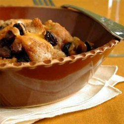 Bread Pudding with Colby Cheese recipe