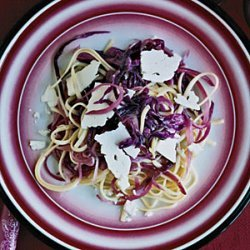 Linguine with Red Cabbage recipe