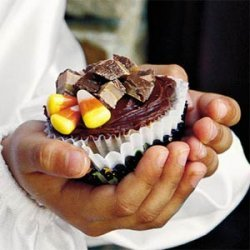 Heavenly Candy Bar Cupcakes recipe