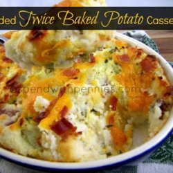 Loaded Twice Baked Potato Casserole recipe