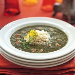 Gumbo Z'herbes with Perfect Rice recipe