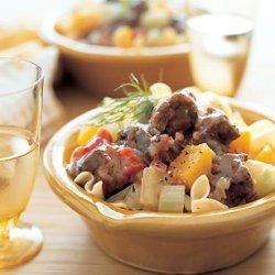 Pork Stew with Fennel and Butternut Squash recipe