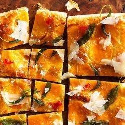 Butternut Squash Tart with Fried Sage recipe