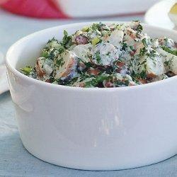 Creamy Potato Salad with Lemon and Fresh Herbs recipe