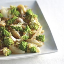 Roasted Cauliflower with Onions and Fennel recipe