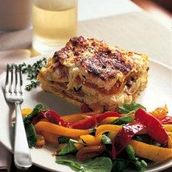 Butternut Squash and Mushroom Lasagna recipe