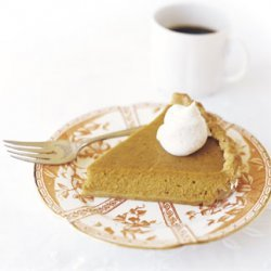Pumpkin Pie with Spiced Whipped Cream recipe