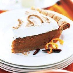 Pumpkin Meringue Pie recipe