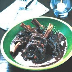 Greek-Style Braised Lamb Shanks recipe